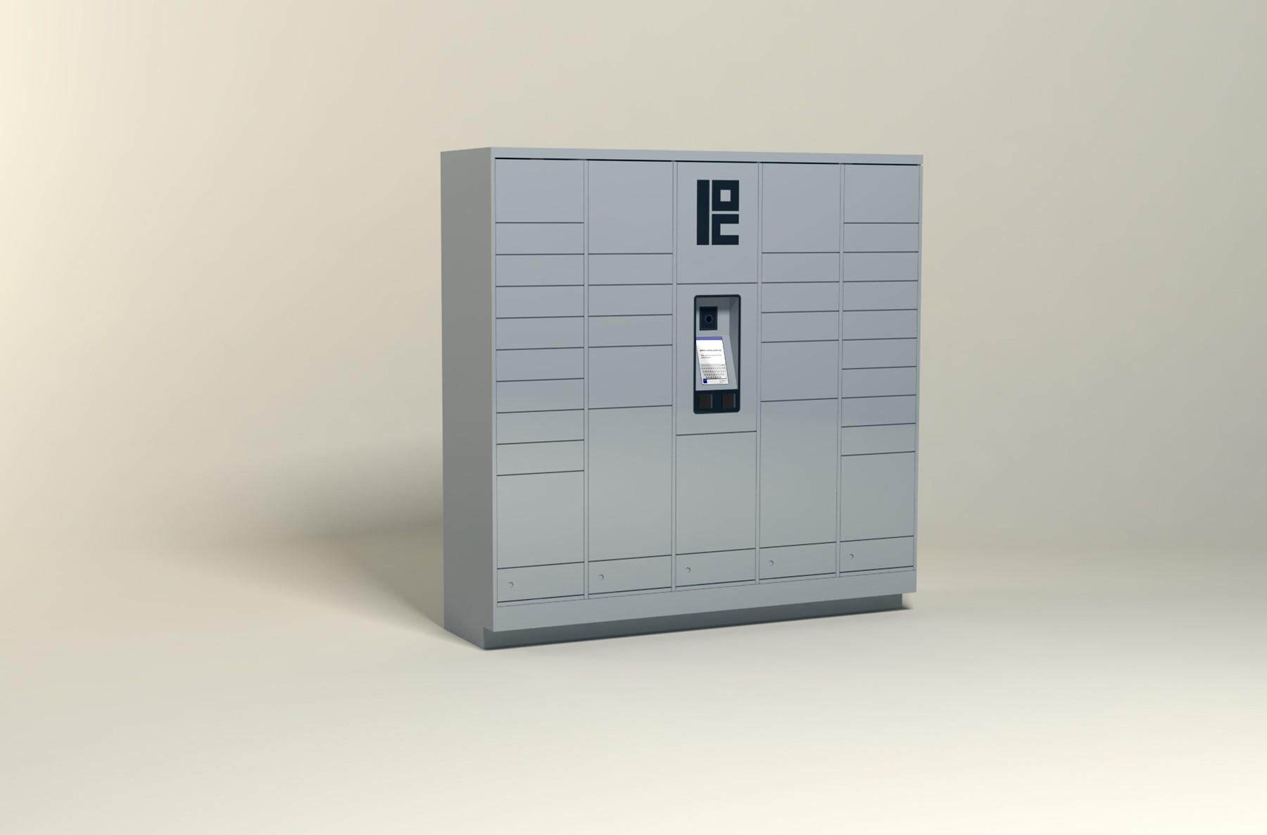 100 Unit Multi Family Steel Smart Locker 34 Openings