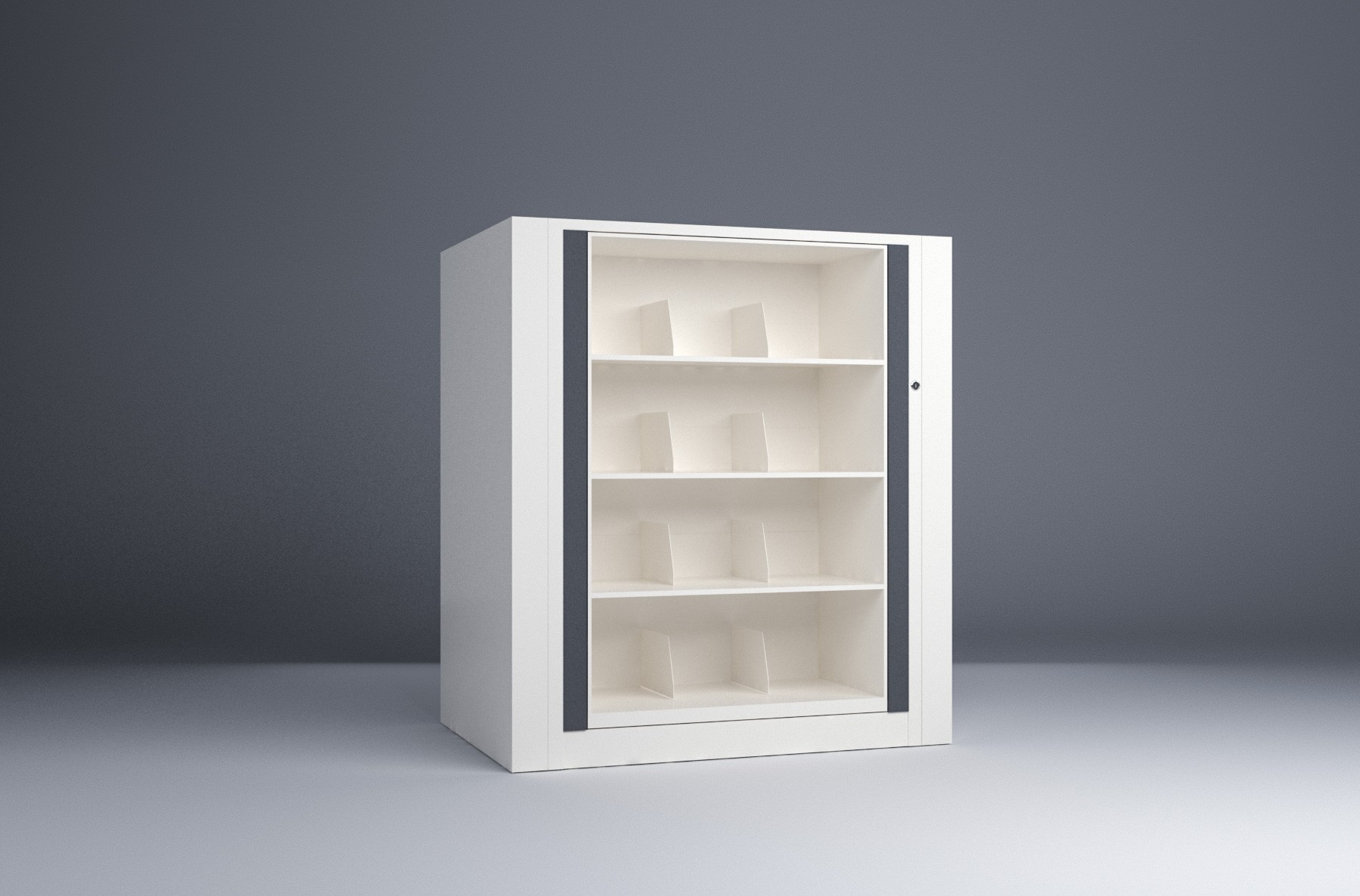 Rotary File-Legal-1 Starter 4 Tier-Shelves