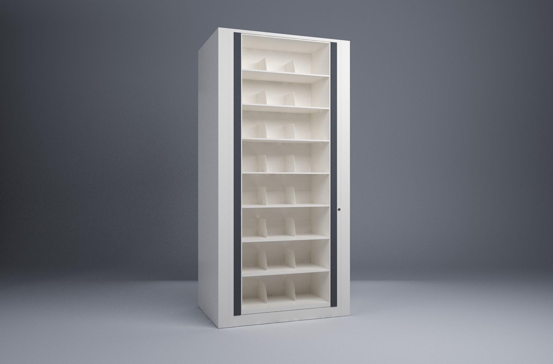 Rotary File-Legal-1 Starter 8 Tier-Shelves