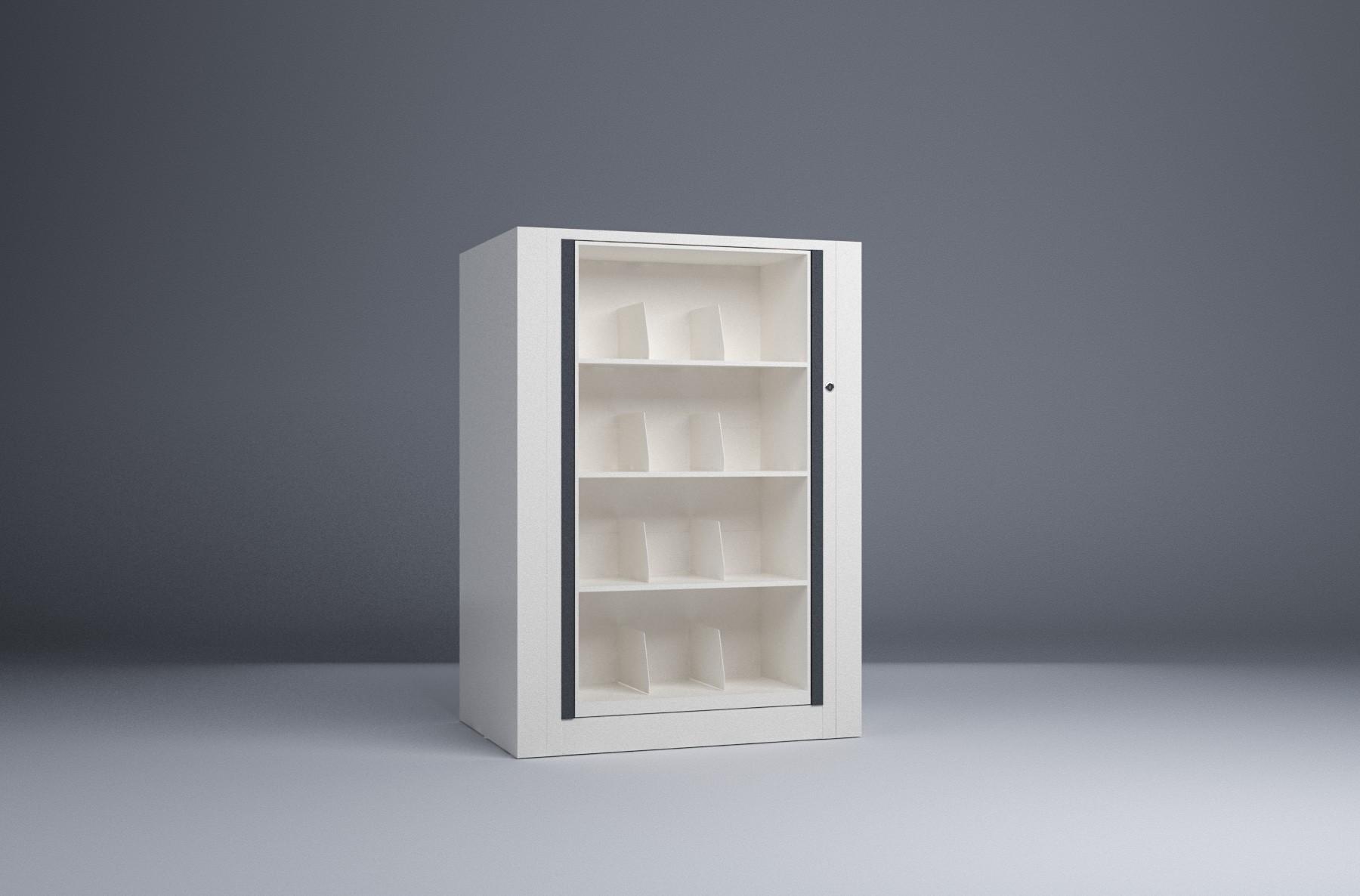 Rotary File-Letter-1 Starter 4 Tier-Shelves