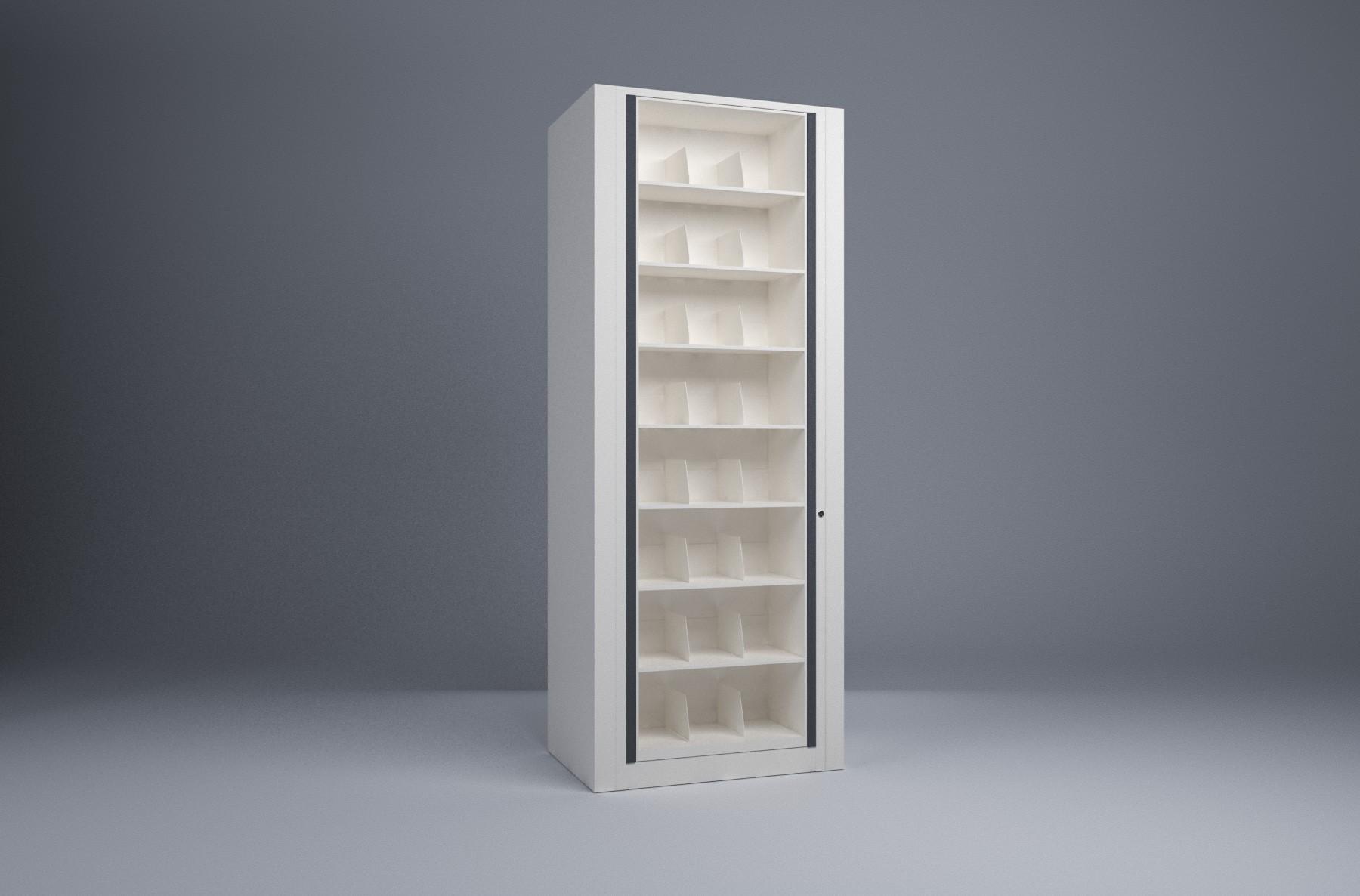 Rotary File-Letter-1 Starter 8 Tier-Shelves