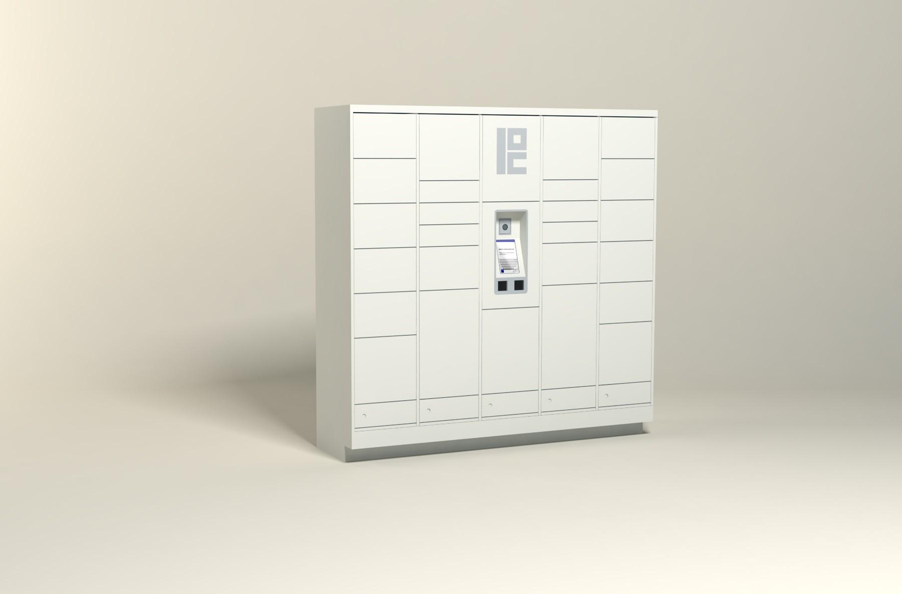 100 Unit - 30 Total Openings - Steel Smart Locker