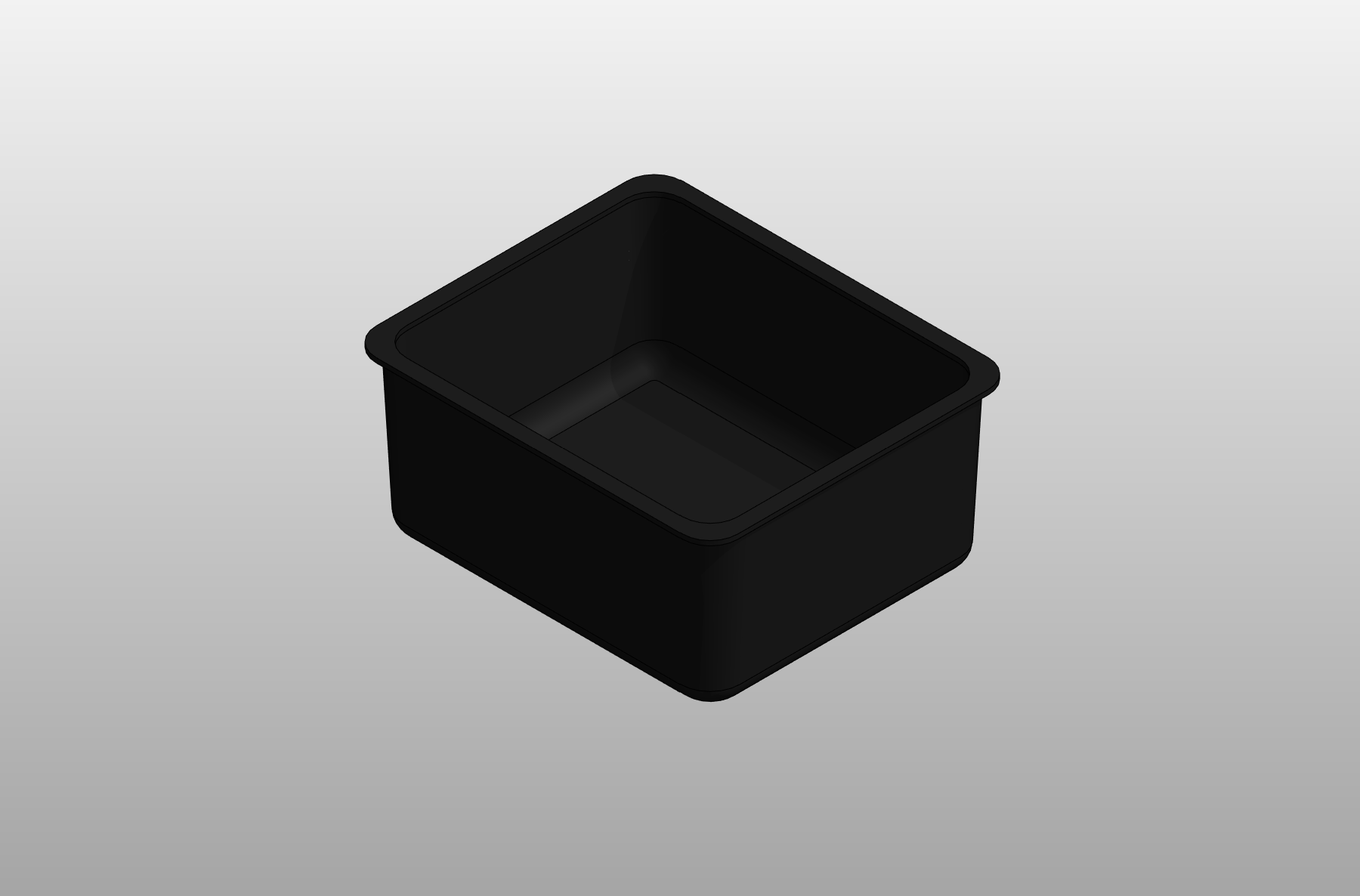 Single Bowl Laboratory Epoxy Resin Sink