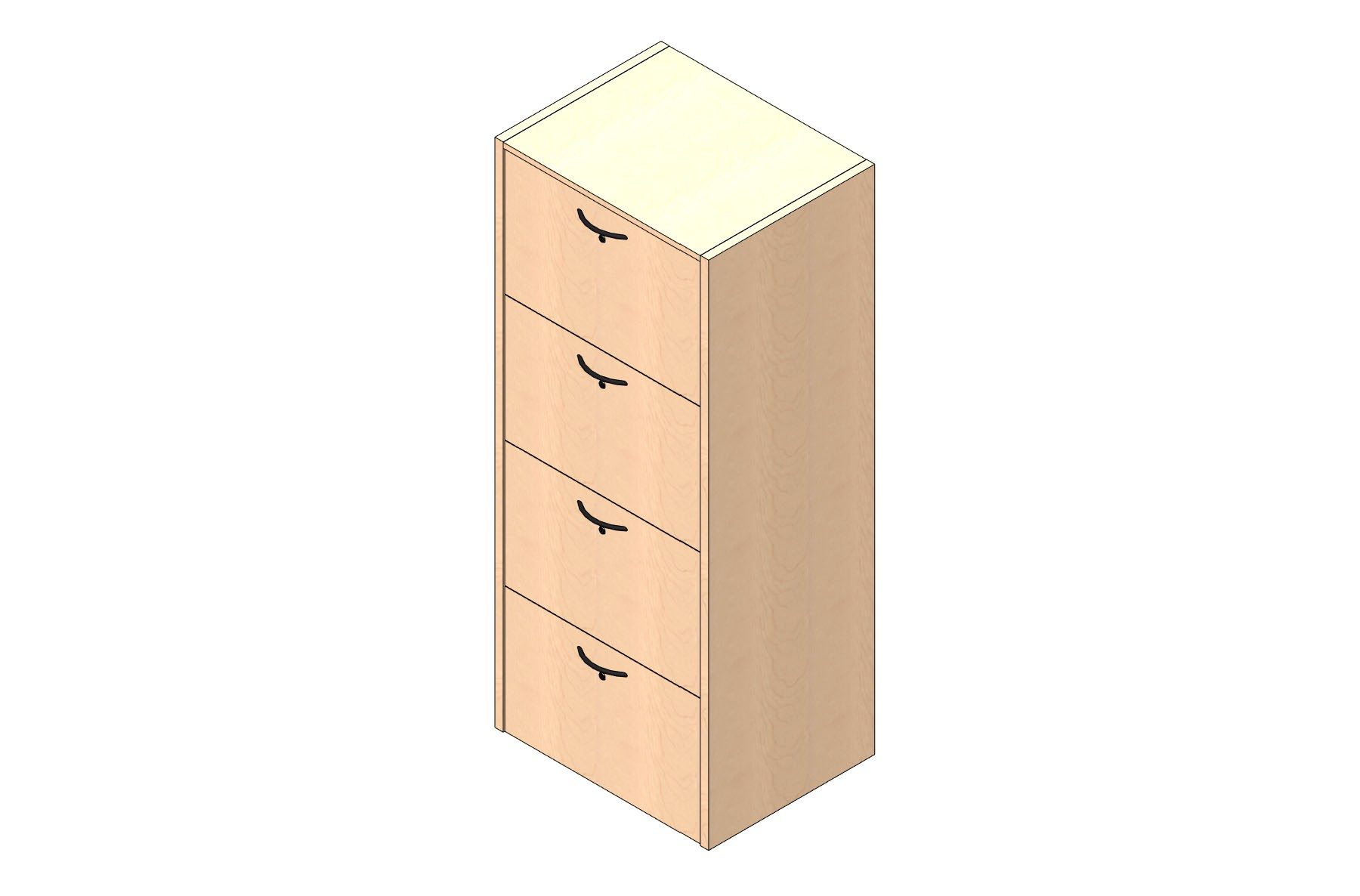 Executive Cabinet - Lateral File - Laminate
