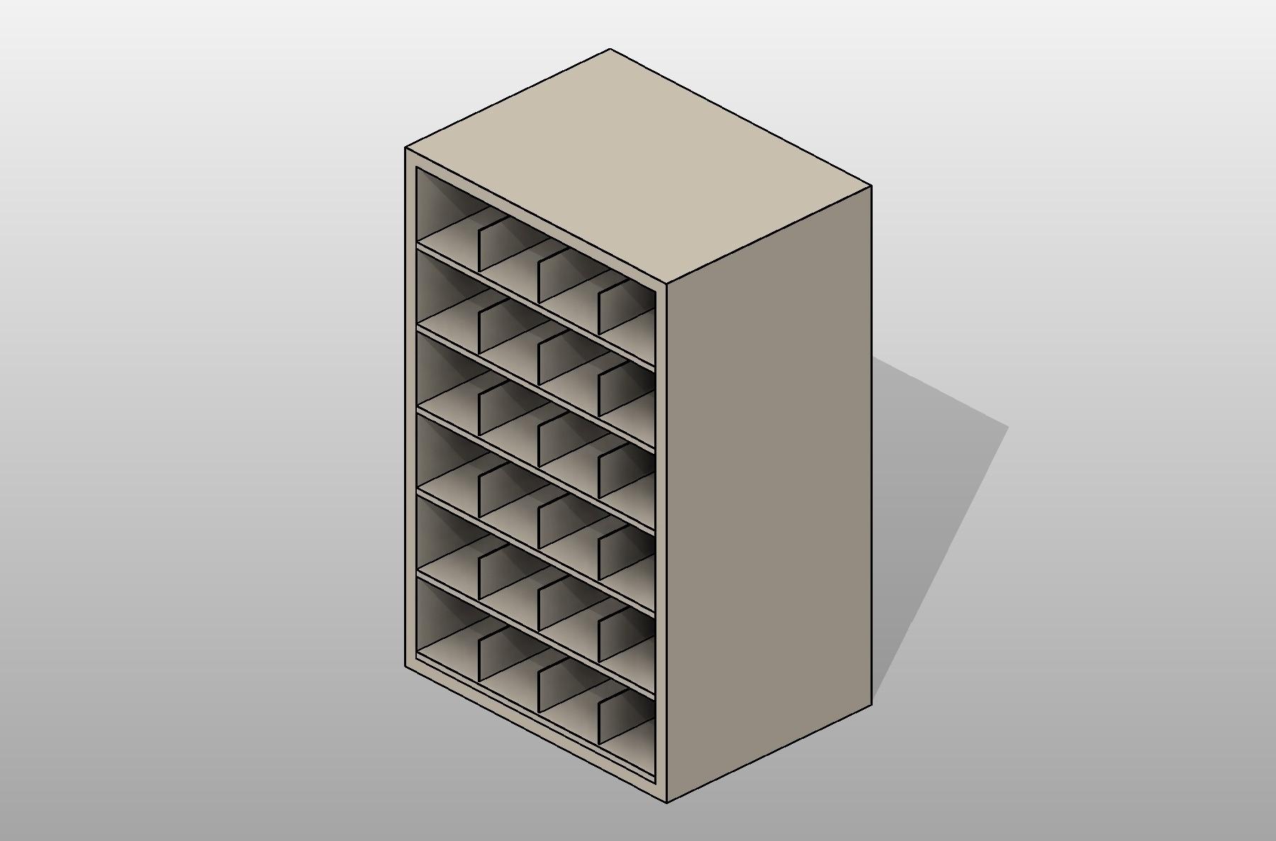 Rolled Blueprint Storage