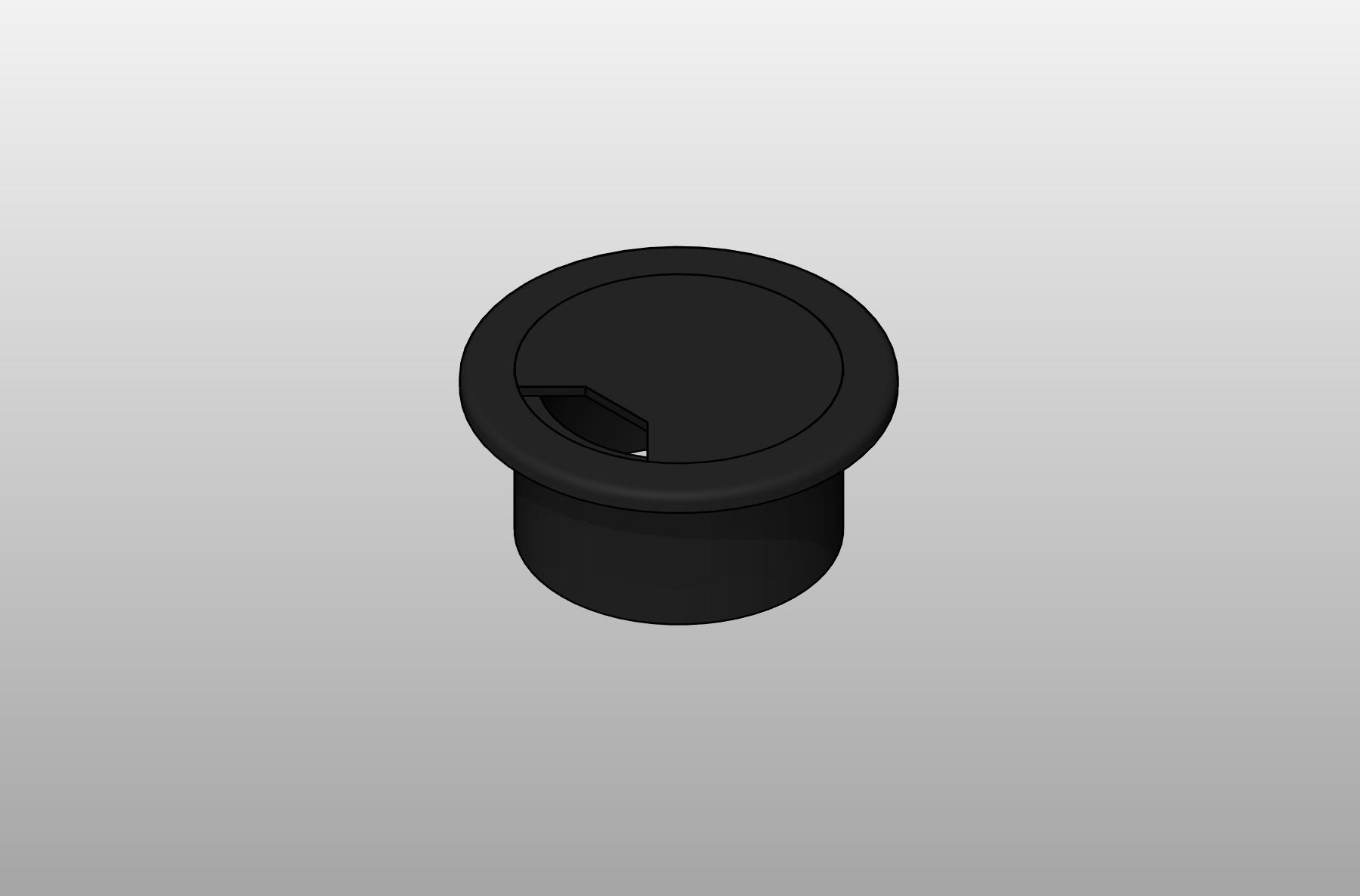 Round Plastic Grommet
