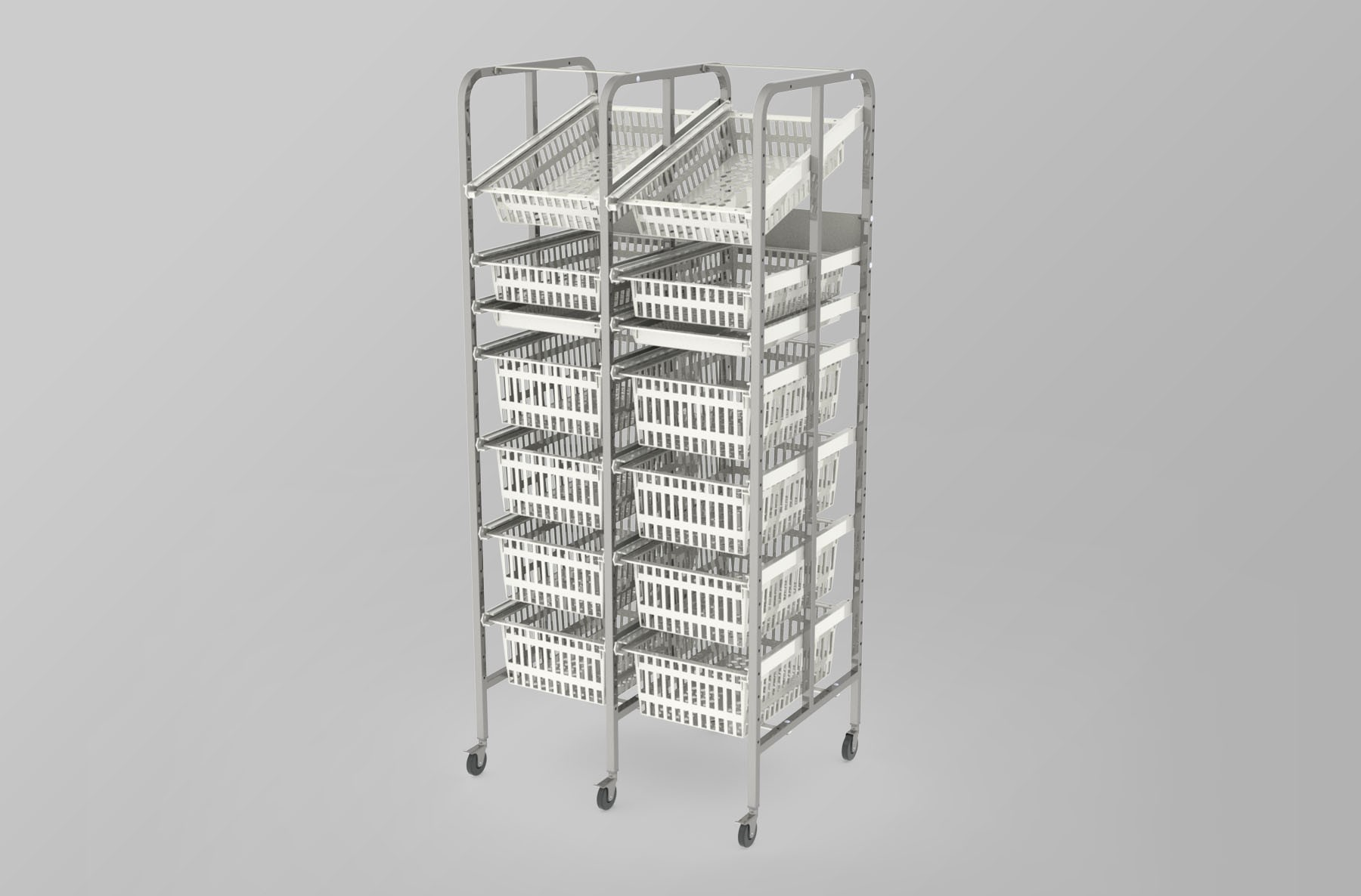Medical Supply Storage-2 Column-7 High