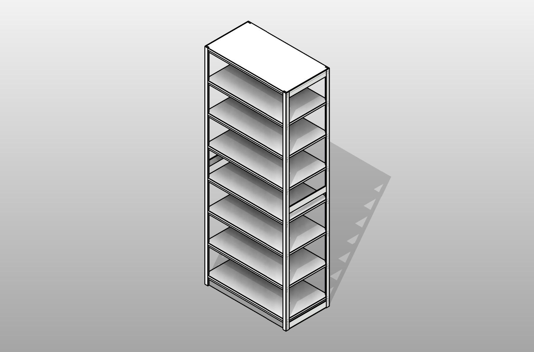 Box Archive 4 Post Shelving