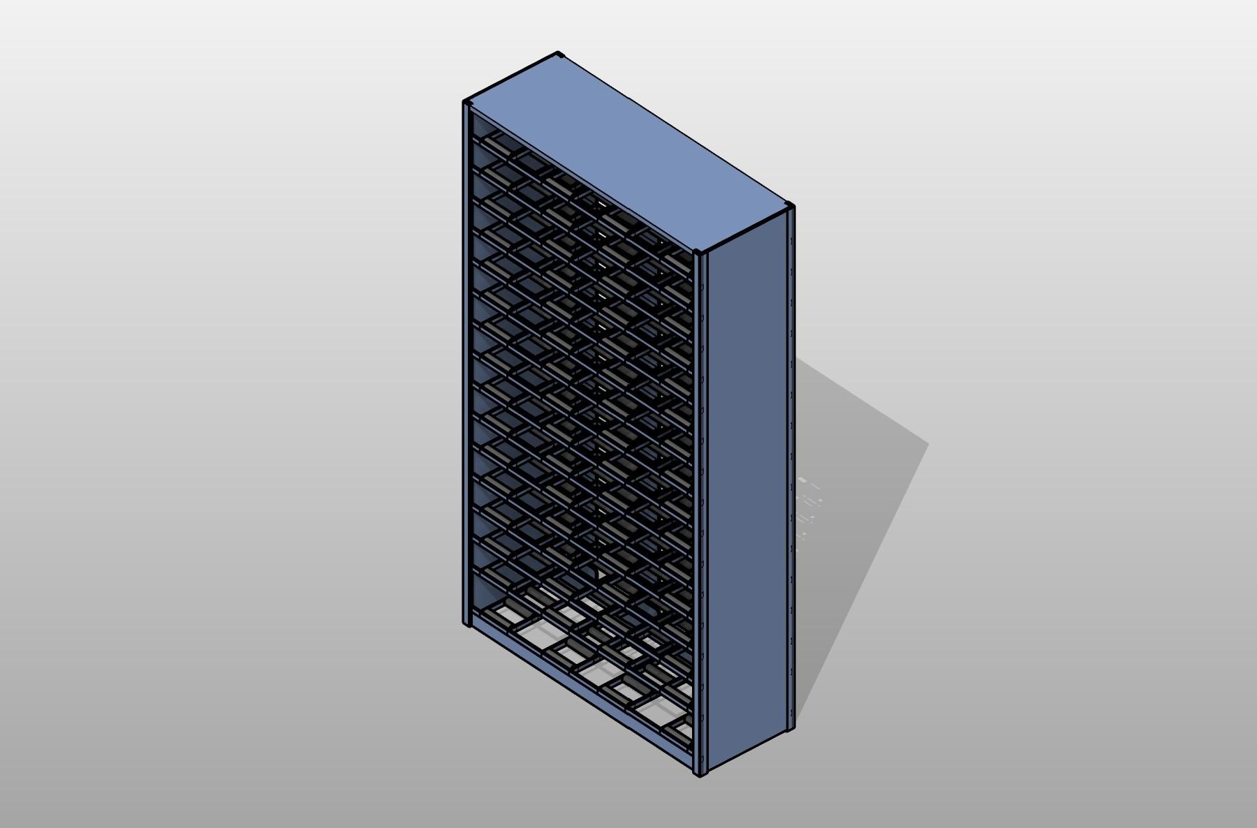 Roller Shelves 4 Post Shelving