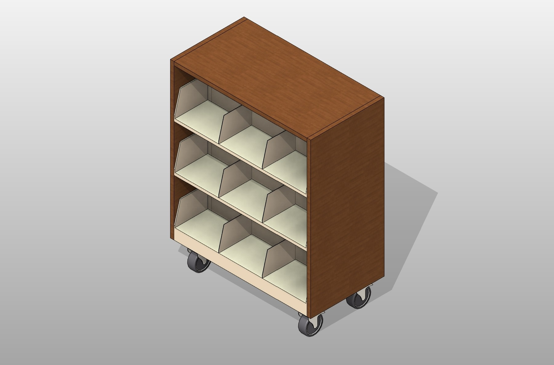Mobile Cantilever Assembly Cantilever Shelving