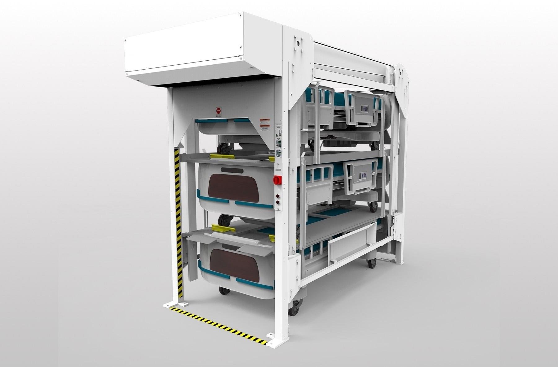 3 Position Standard Hospital Bed Lift