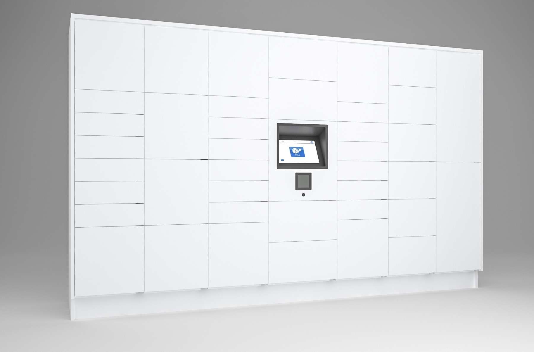 40 Total Openings Laminate Smart Locker