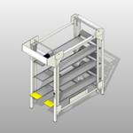 Front Load Hospital Bed Lift
