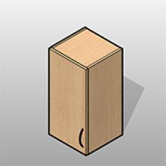 1 Door Plastic Laminate Wall Cabinet Left Hinge Small