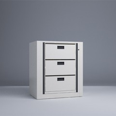Rotary File-Letter-1 Starter 3 Tier-Drawers