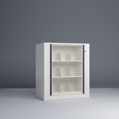 Rotary File-Letter-1 Starter-3 Tier-Shelves