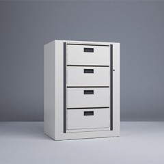 Rotary File-Letter-1 Starter 4 Tier-Drawers