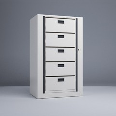Rotary File-Letter-1 Starter 5 Tier-Drawers