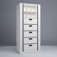 Rotary File-Letter-1 Starter 7 Tier-Drawers
