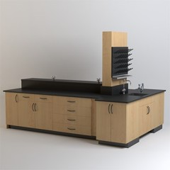 Lab - 10' Wide - Option 06
