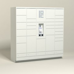 75 Unit - 26 Total Openings - Steel Smart Locker