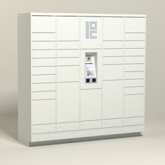100 Unit - 34 Total Openings - Steel Smart Locker
