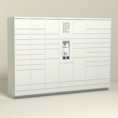 150 Unit - 54 Total Openings - Steel Smart Locker