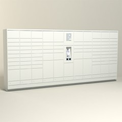 275 Unit - 82 Total Openings - Steel Smart Locker