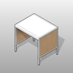 ADA-compliant Basic Laminate Console Small