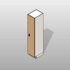 ADA-Compliant Single Laminate Storage Lockers Small
