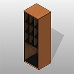 Combination Instrument Laminate Locker AG Small