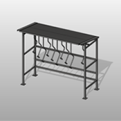 Compact Steel Bike Shelter File Small