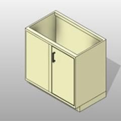 Dead Corner PCS Lab Base Cabinet 1 Small