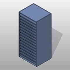 Flat Shelves PCS Blueprint Storage Small