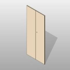 Hinged PCS Doors Four Post Shelving Small