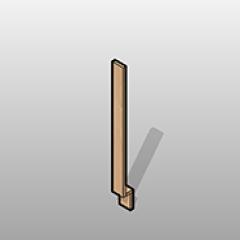 Laminate Base Cabinet Filler Small