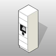 Laminate Smart Parcel Locker System Small