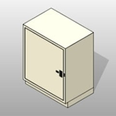 Miscellaneous Sizes Painted Powder-Coated-Steel Evidence Locker 1 Small