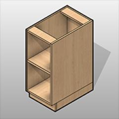 Open-Base Cabinet ADA-Compliant Laminate Small