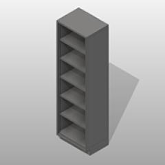 Open Door SST Storage Cabinets Small