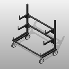 PCS Cantilever Pipe Rack Small