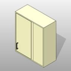 PCS Dead Corner Wall Lab Cabinet 1 Small