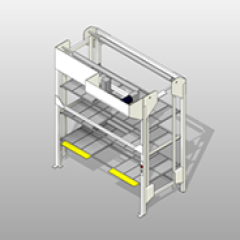 PCS Front Load Hospital Bed Lift Small
