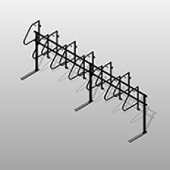 PCS High Density Bike Rack Small