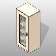 PCS Shelves Museum Preservation Cabinet 1 Small