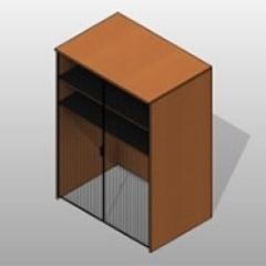 Plastic Laminate Specialty Instrument Locker 1 Small