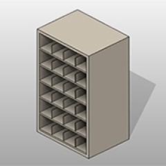 Rolled PCS Blueprint Storage Standard Small