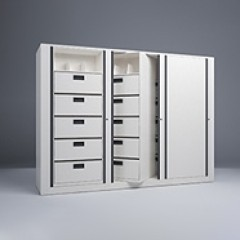 Rotary File-Letter-1 Starter-2 Adder-6 Tier-Drawers-Render Small