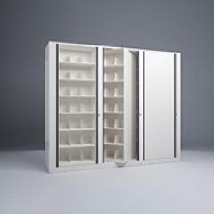 Rotary File-Letter-1 Starter-2 Adder-7 Tier-Shelves-Render Small