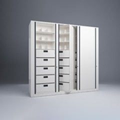 Rotary File-Letter-1 Starter-2 Adder-8 Tier-Drawers-Render Small